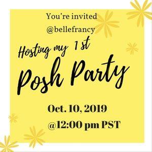 My 1st Posh Party YAY!! Oct. 10, 2019🙌🏽🎉🎊